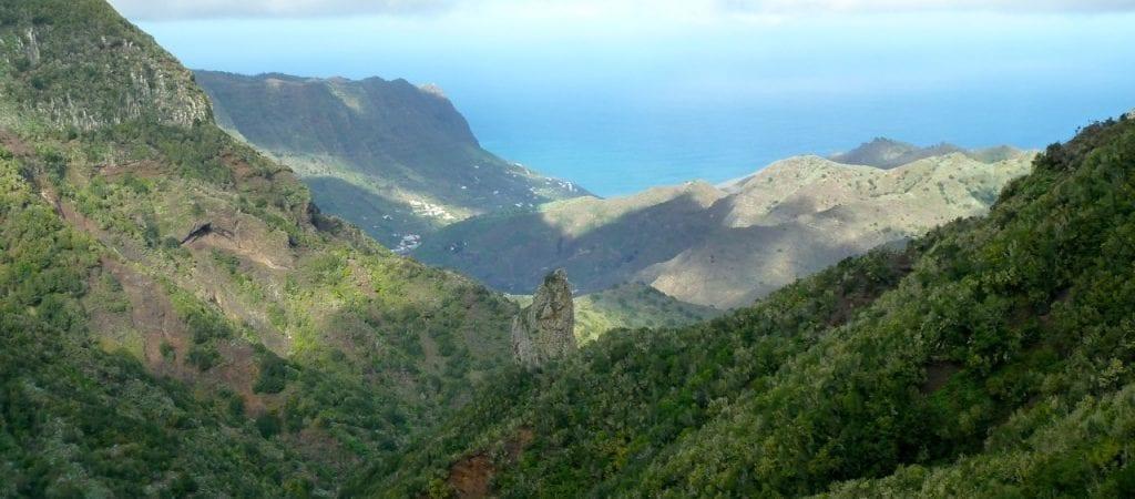 Panorama Gomera Valle Gran Rey