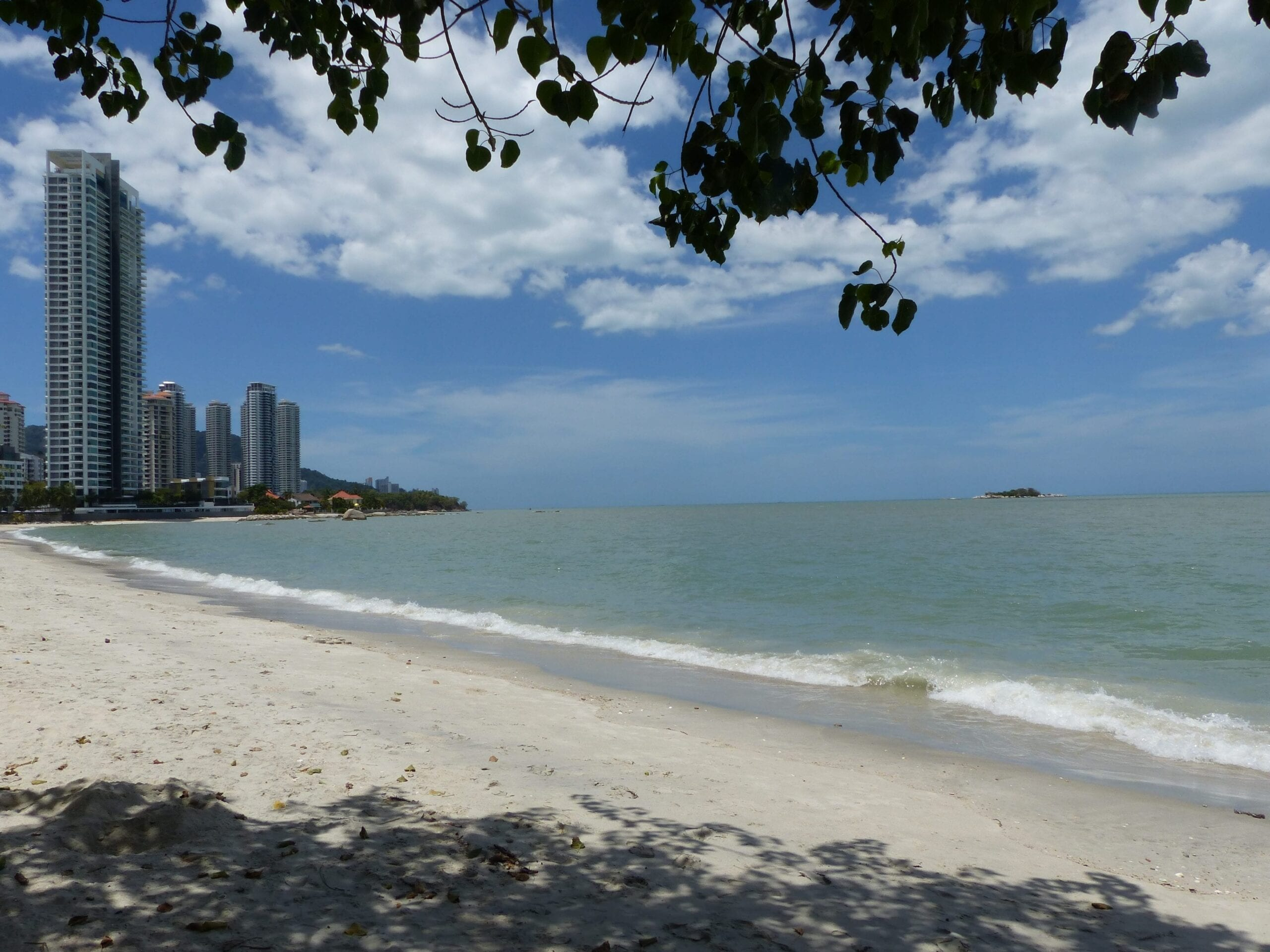 Strand in Penang-Malaysiamit Kind