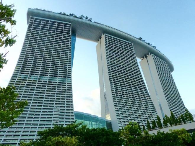 Bay Sands Hotel Singapur - mit Kind kein Aufstieg