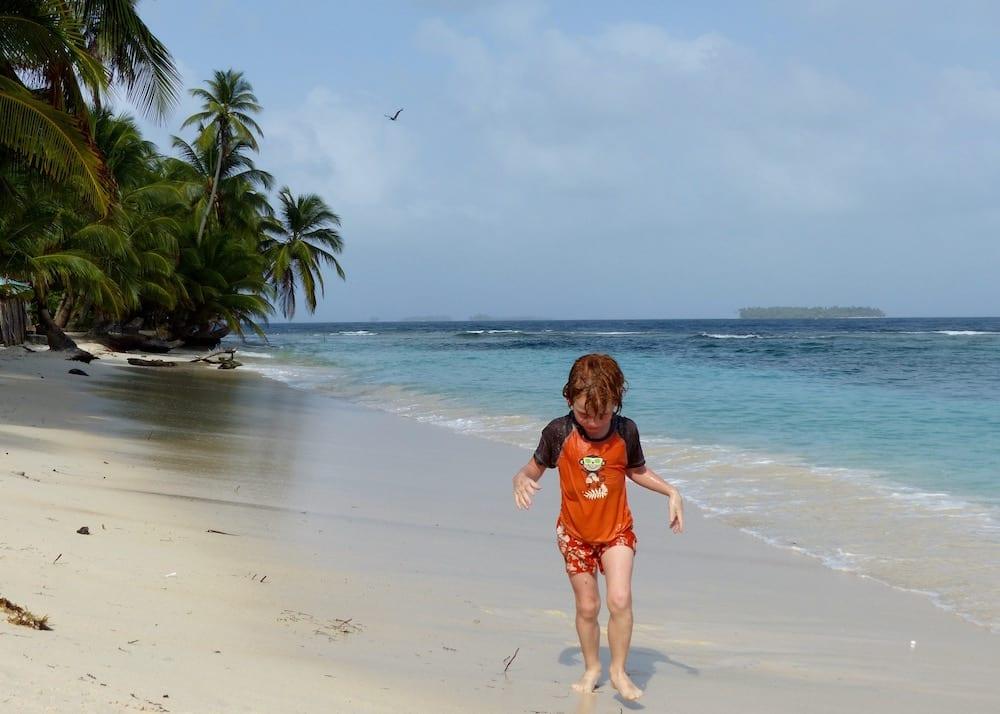 Familienreise Panama mit Kindern Kuna Yala San Blas Inseln