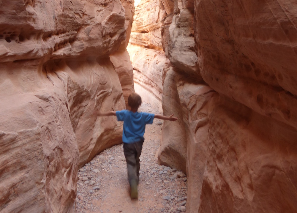Valley of Fire - USA mit Kind alleine