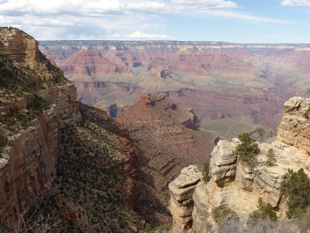 Mit Kind am Grand Canyon - Schlucht