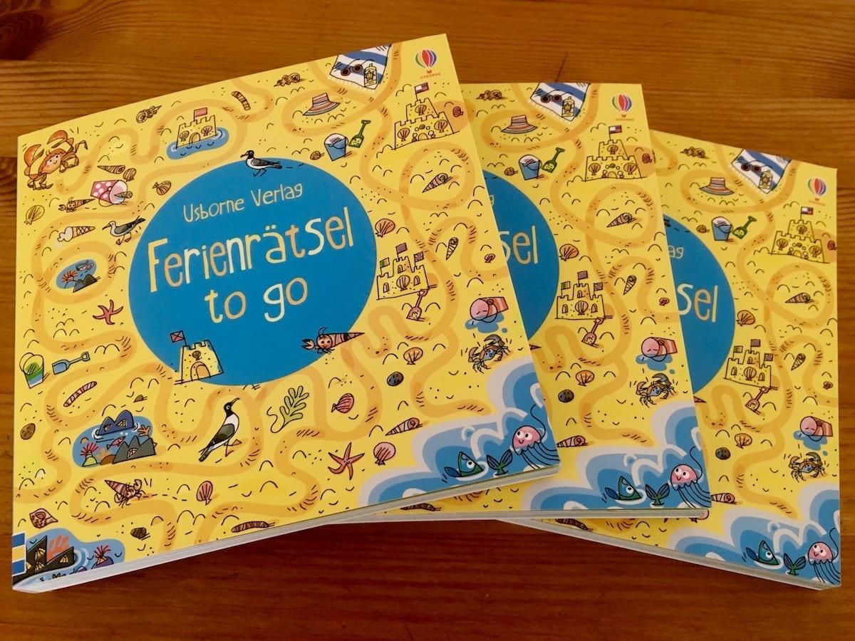 Mitmachbücher für den Sommerurlaub mit Kindern - Ferienrätselbuch