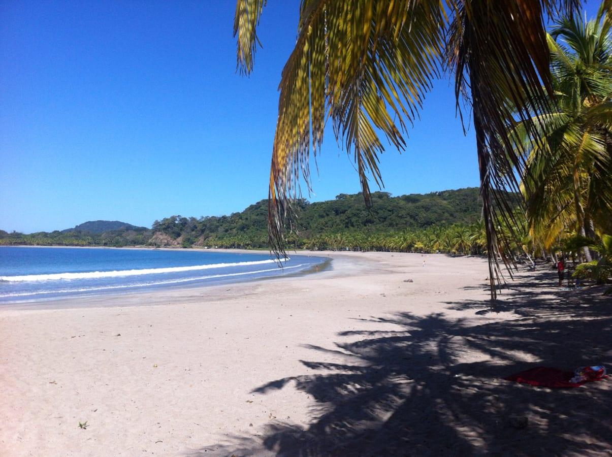 Ein wunderbarer Strand in Costa Rica mit Kind: Die ruhige Playa Carillo in Samara