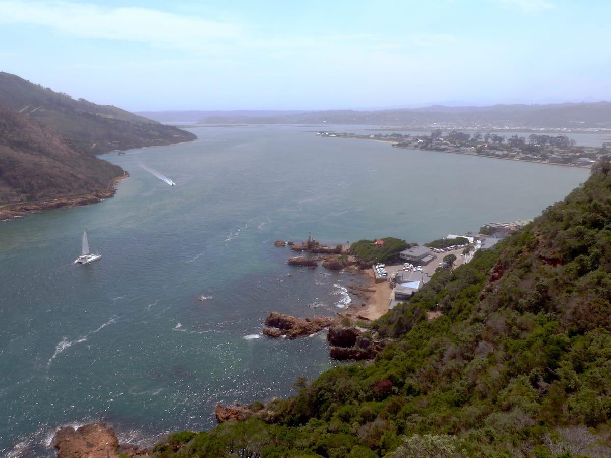 Südafrika Roadtrip mit Kindern - Knysna Ausblick