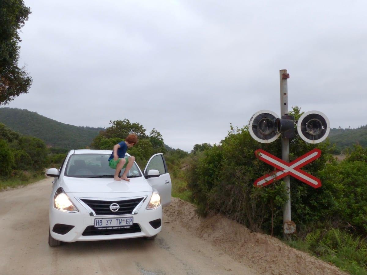 Südafrika Roadtrip mit Kindern - Lake Road