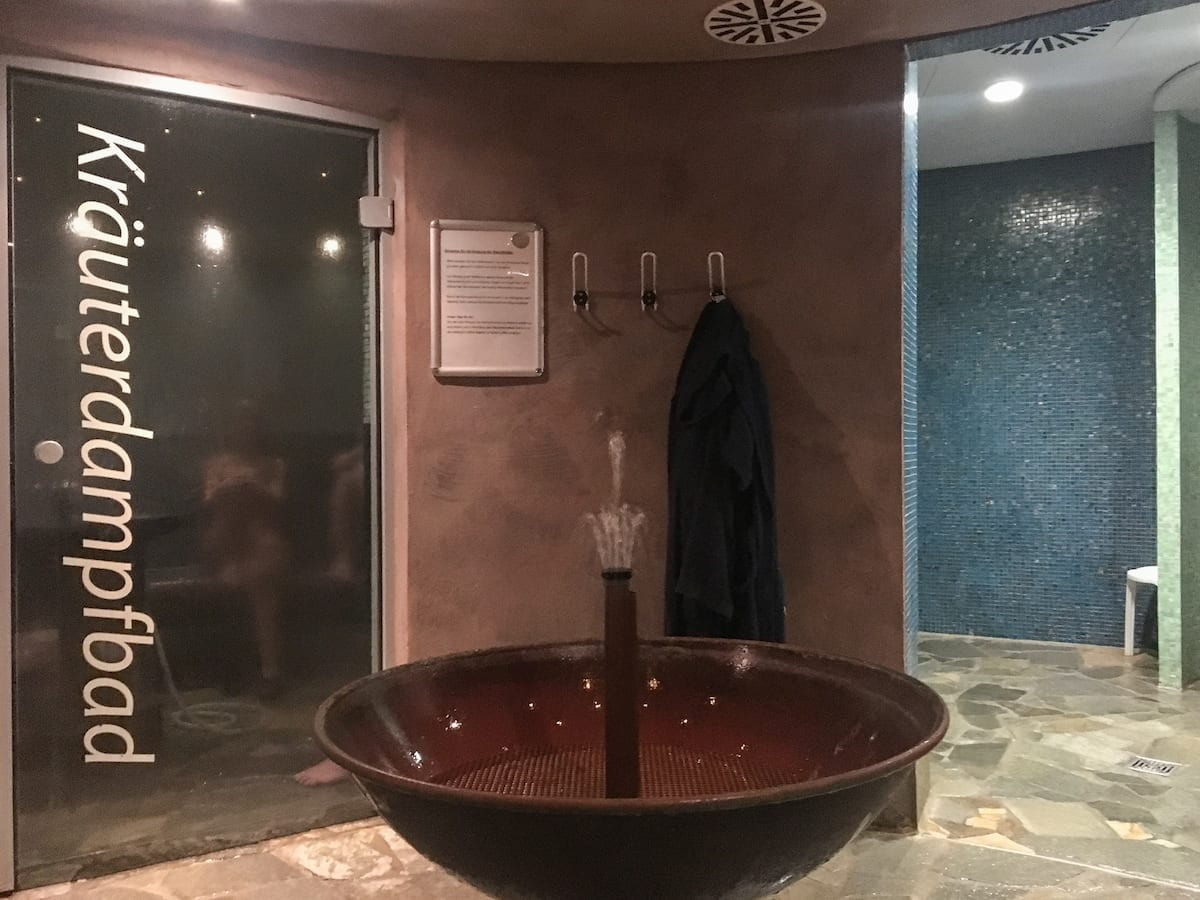 Bad Belzig - Brandenburg im Winter Therme Sauna