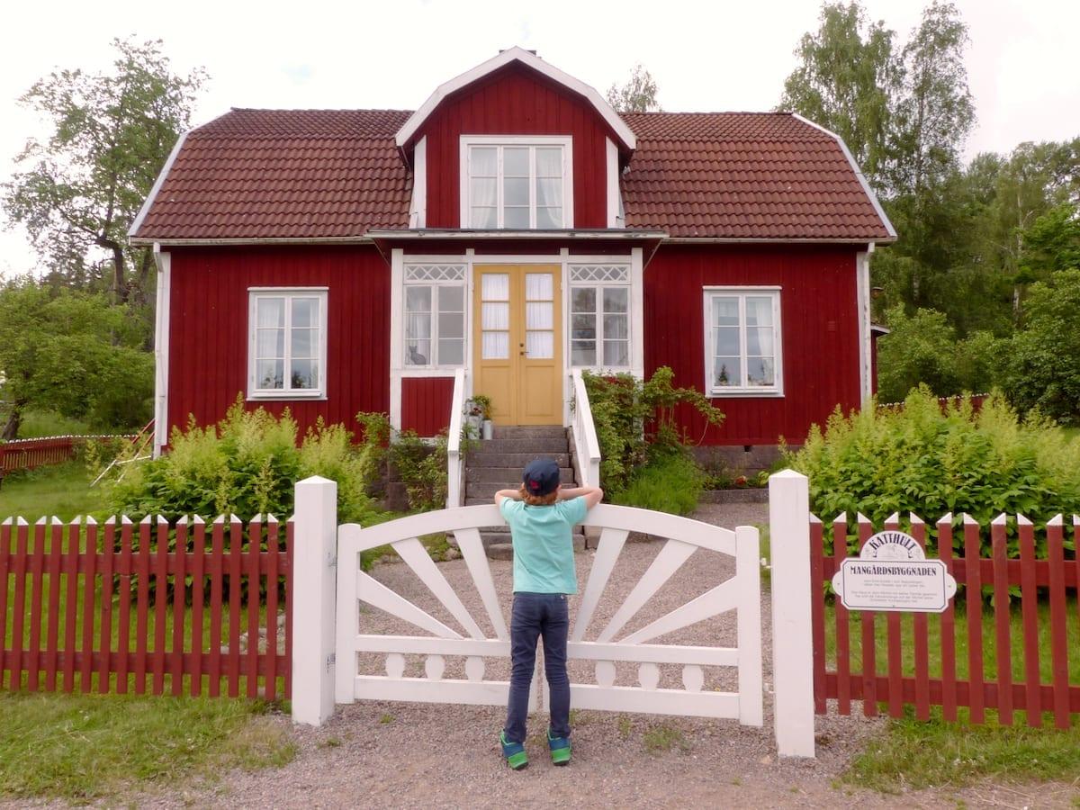 Drehort Michel aus Lönneberga Katthult Haupthaus - Schweden Urlaub mit Kindern