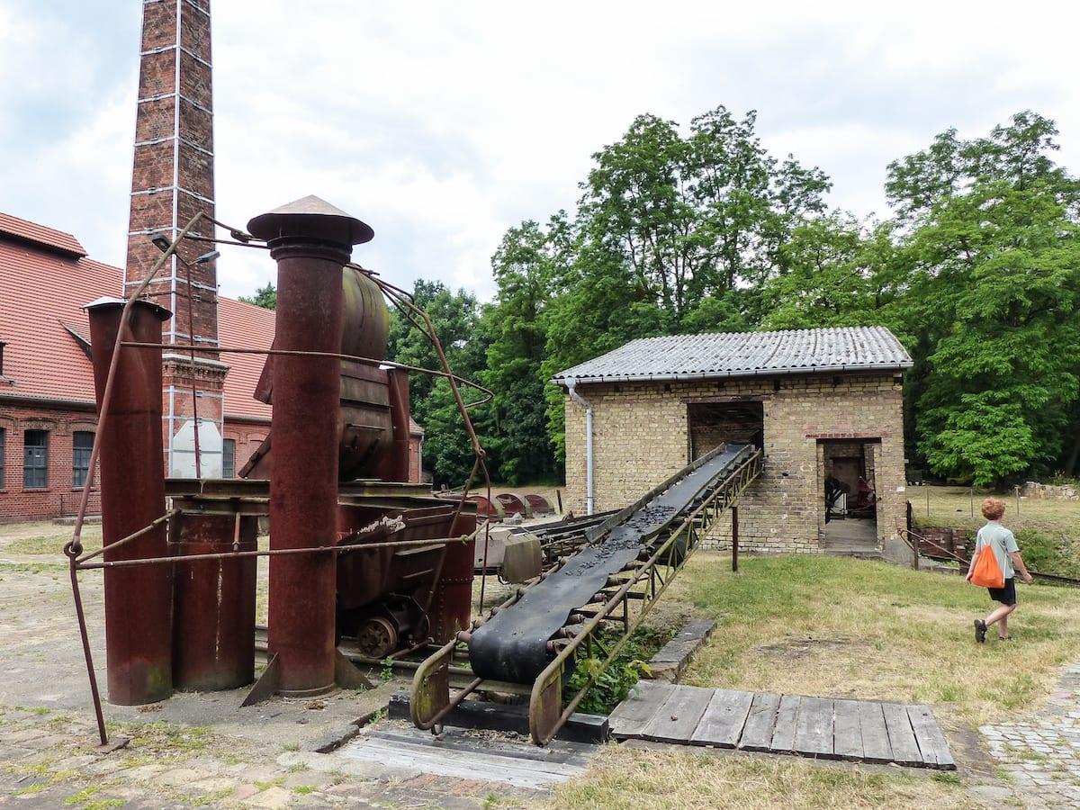 Familienausflug zum Museumsdorf Glashütte