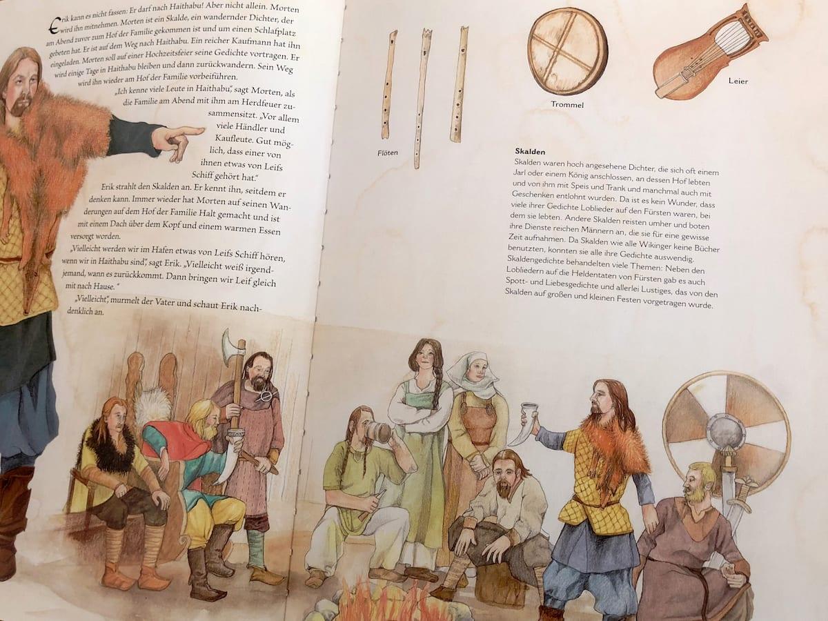 Kinderbücher für die Skandinavienreise - Buchtipp - Wikinger (innen)