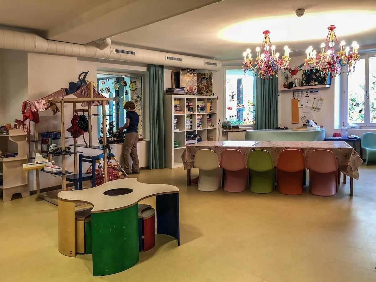 Kinderbetreuung im Saratz - Familienfreundliches Hotel in Pontresina