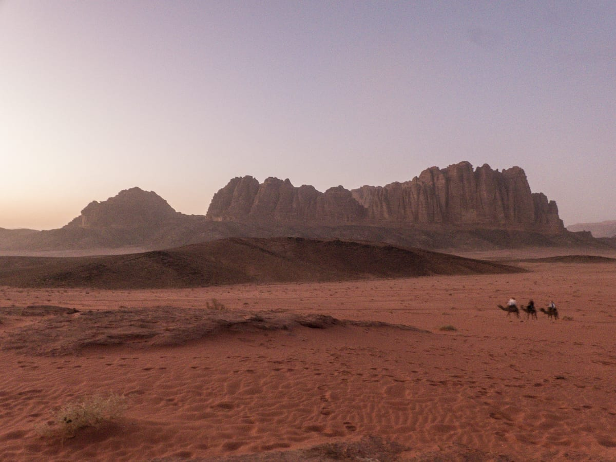 Reise-Highlights in Bildern - Wadi Rum Jordanien