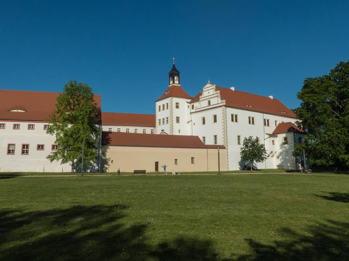 Kulturschatzsucher im Süden Brandenburgs mit Kind - Schloss Finsterwalde