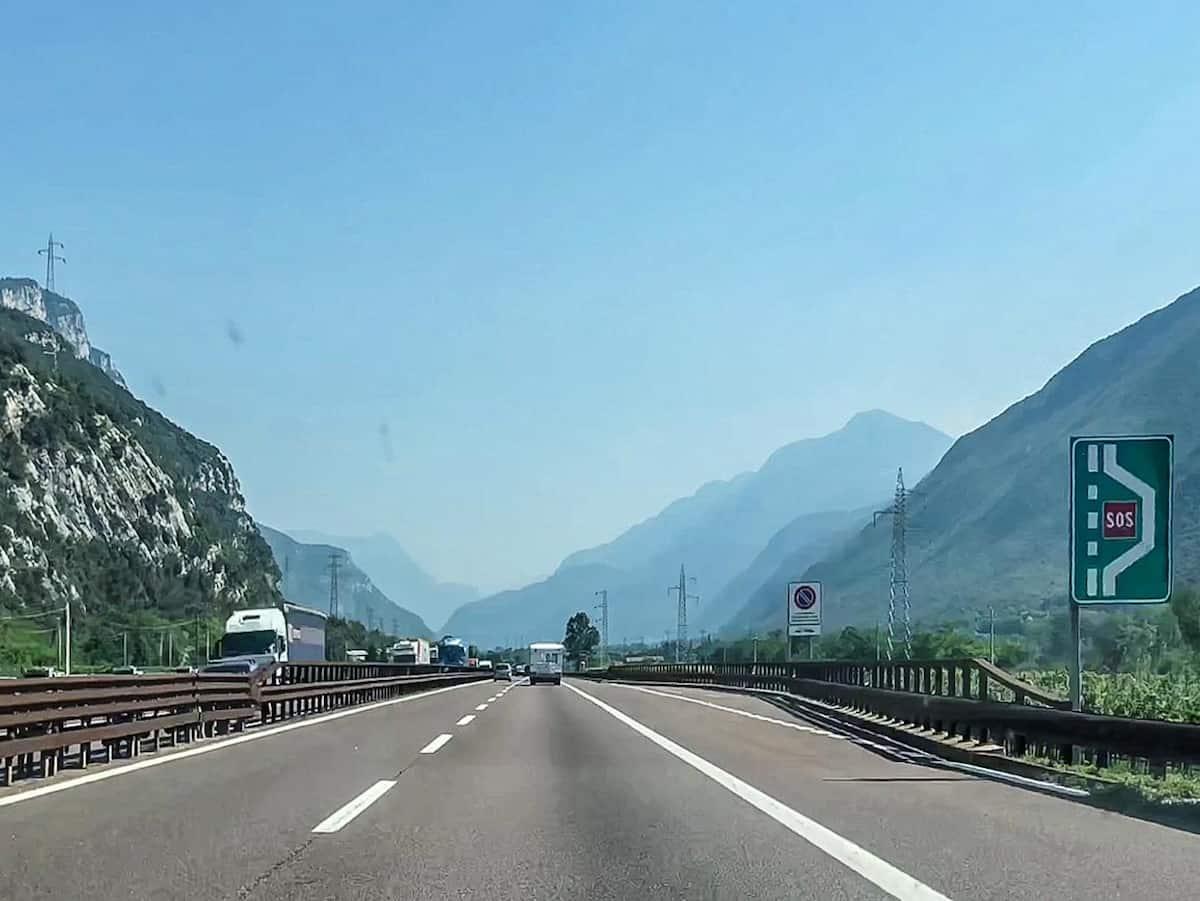 Autobahn Italien Richtung Brenner Autobahn-Guide