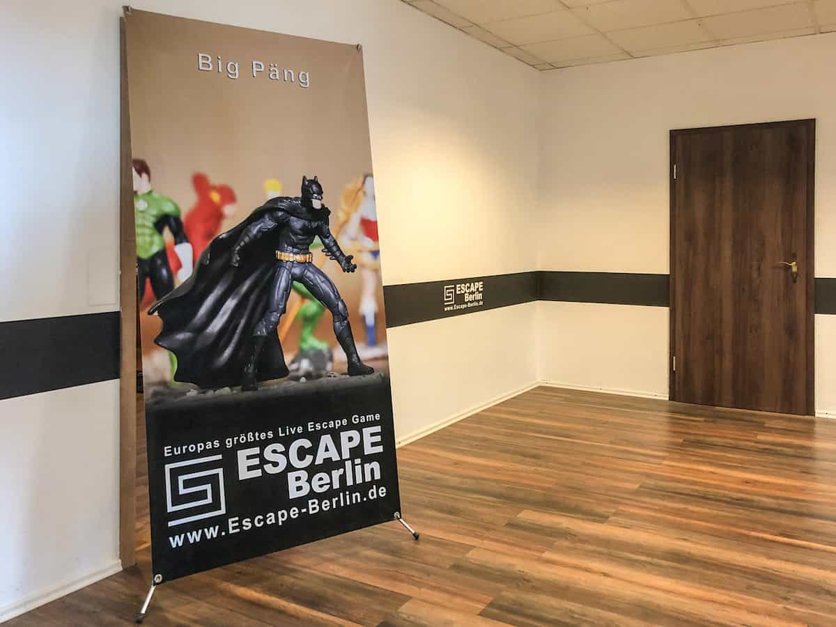 Big Päng Escape Game mit Kindern in Berlin