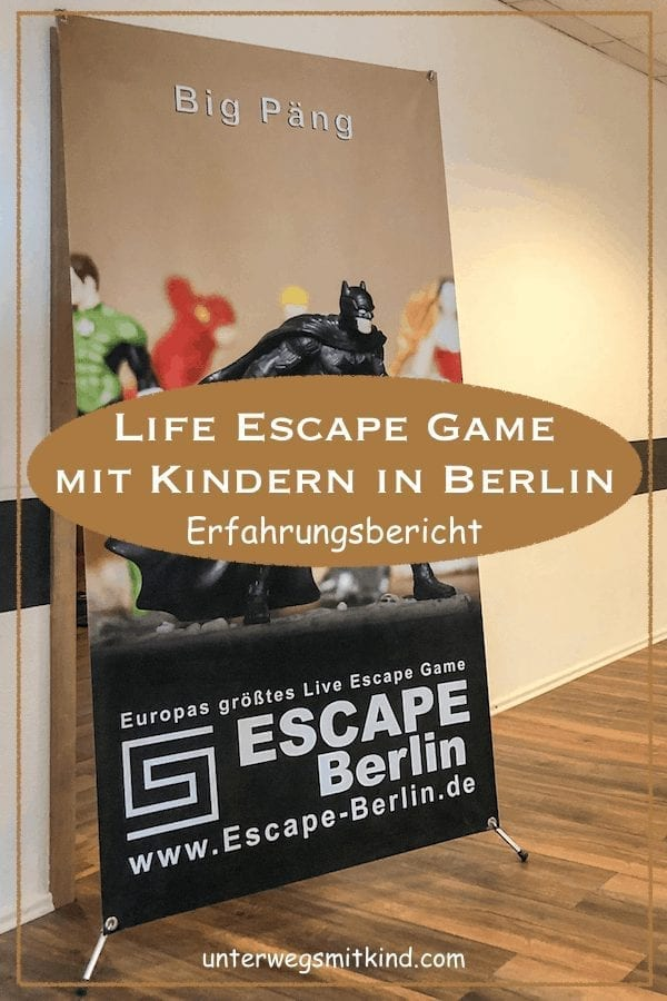 Pin-Escape Game mit Kindern in Berlin