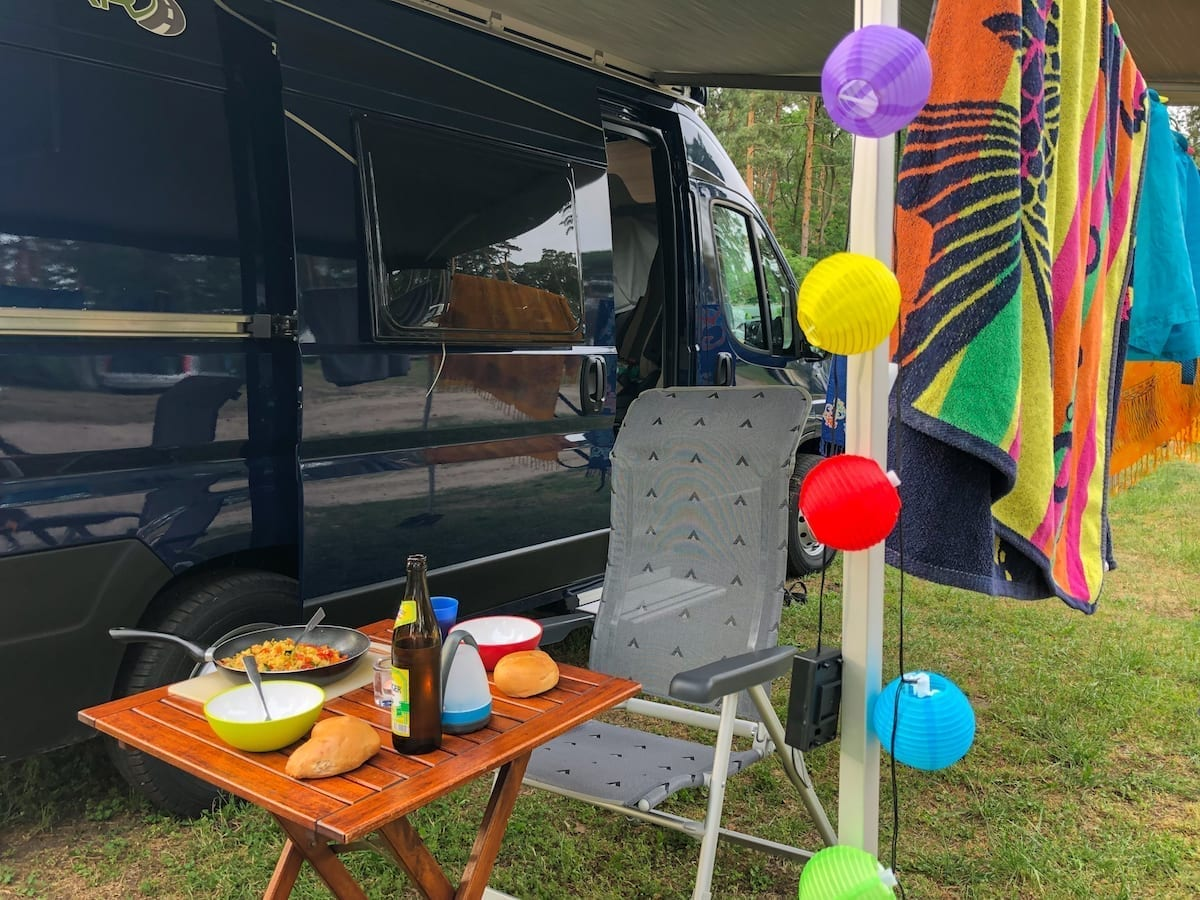 Campervan Roadtrip mit Kind in Deutschland - Vanlife