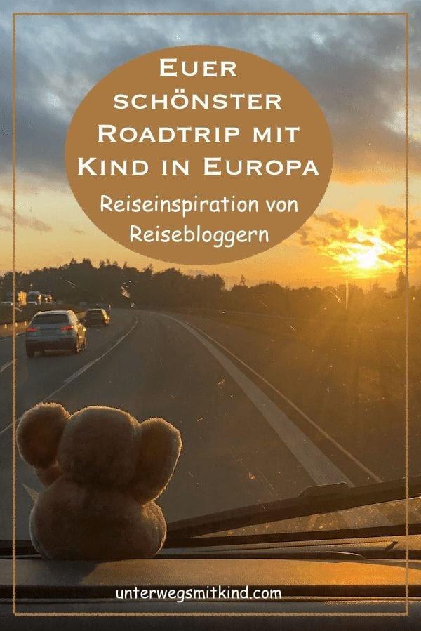 Roadtrip mit Kind in Europa-Pin
