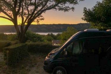 Campingplatz am Lac de Sainte Croix