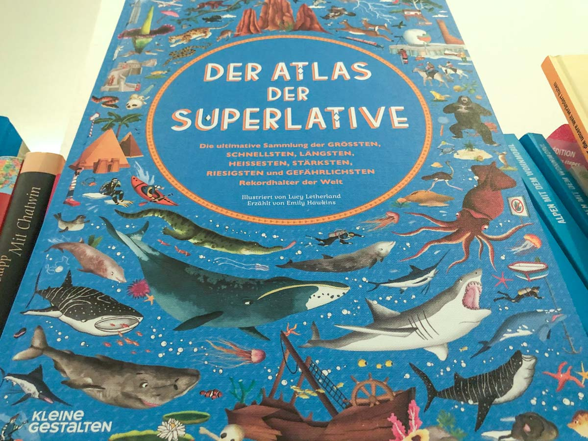 Atlas der Superlative - Reise Buchtipp